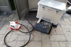 Alternativer Dampfwachsschmelzer