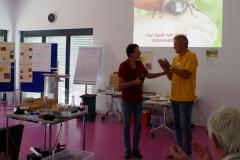 Dr. Pia Aumeier und Uwe Hüngsberg (Foto: Marina Radcke)